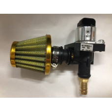 IAC, Idle Air Control Valve - 4 Wire Stepper and Housing and Filter