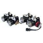 Weber DCOE Injector 2 Throttle Body Master + Slave Bundle